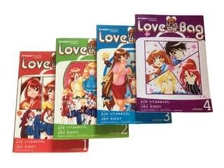 LOVE IS IN THE BAG Manga Series