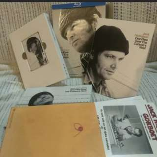 Used Rare boxset one flew over the cuckoo's nest ultimate collector Edition blu ray
