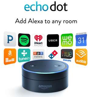 Echo Dot Alexa Amazon voice smart home