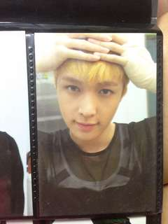 EXO LAY GROWL VER A PHOTOCARD PH PRESS