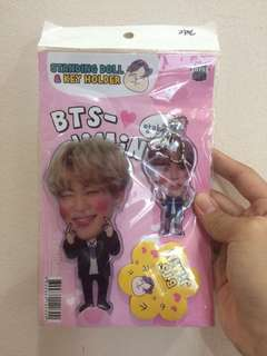 BTS JIMIN STANDING DOLL & KEY HOLDER