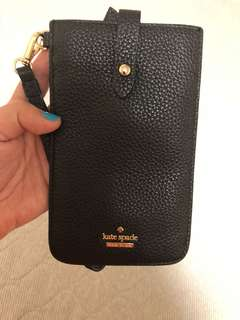 Kate Spade leather Phone pouch/sleeve
