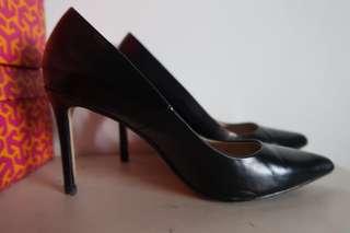Zara Genuine Leather Heels
