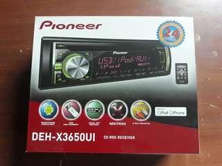 DEH-X3650UI