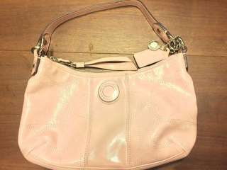 90% new Coach shoulder bag