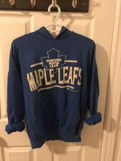 Vintage maple leafs pullover hoodie