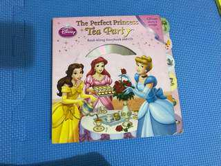 Disney Princess Book with CD