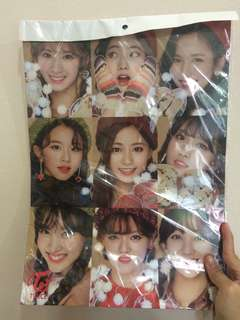 TWICE 12PCS POSTER + 1 PC STICKER