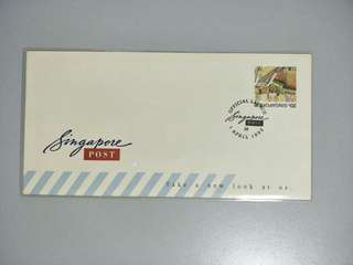Singapore FDC Singpost Official Launch