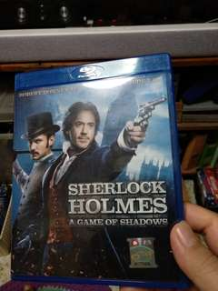 Blu ray, Sherlock Holmes, a game of shadows