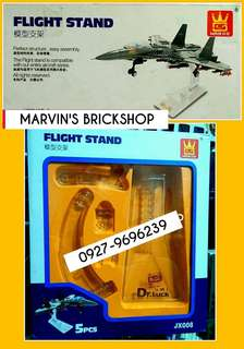 Wange Dr. Luck Flight Stand For Aircraft Building Blocks Toys