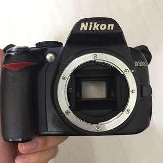 Fast Deal Nikon D3000