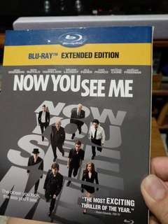 Blu ray, Now You see me, extended edition