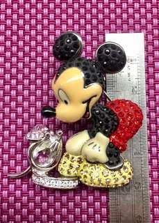 🈹🈹🈹米奇水晶胸針Swarovski x Disney brooch