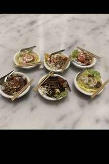 Handmade Miniature : Noodles Dry/Soup