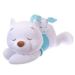 日本 Disney Store 直送 2018 Cool Collection 系列 Winnie the Pooh & Piglet 小熊維尼豬仔涼感攬枕咕𠱸