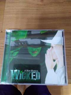 🚚 WICKED The Musical Original Broadway Soundtrack