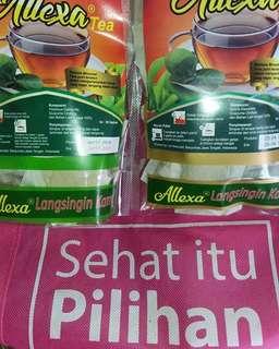 Allexa tea peluntur lemak kotor