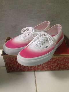 Vans Authentic Ombre Pink/True White