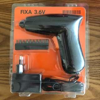 🚚 Brand new ikea Electric Screwdriver FIXA 3.6V