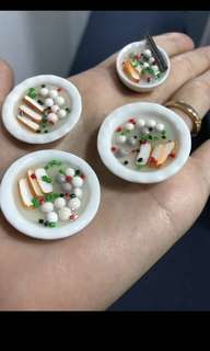 Handmade : Miniature fishball/Meatball with fish cake