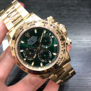 全新Rolex 116508 Green