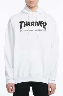 Thrasher White Hoodie