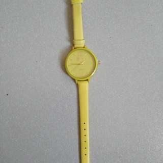 Geneva Yellow Watch