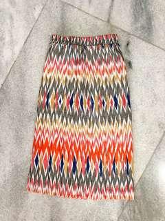 Colorful Batik Skirt