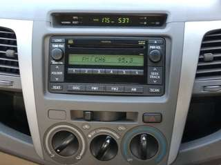 Toyota Fortuner Original Headunit