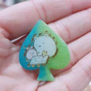 🚚 Sumikko Gurashi Spade Resin Charm