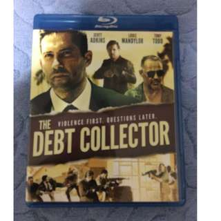 🚚 The Debt Collector (2018) Blu-ray Disc