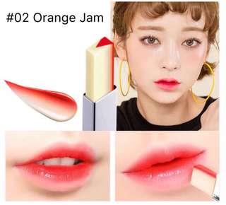 Novo Two Tone Lipbar ( Orange Jam )