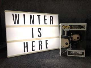 Jon Snow Funko Pop Edition Two