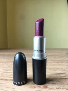 MAC LIPSTICK - REBEL (SATIN)
