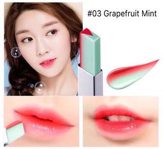 Novo Two Tone Lipbar ( Grapefruit Mint )