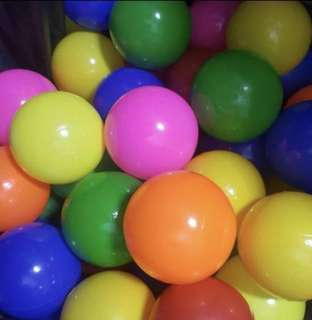 Colorful Pit Ball Pits