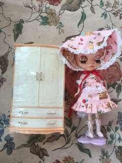 1970s日本娃用衣柜