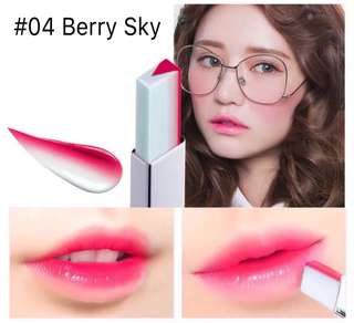 Novo Two Tone Lipbar ( Berry Sky )