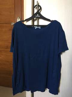 Original Zara Navy shirt