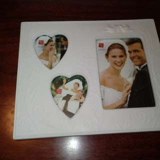 Ceramic Photo Frame by RUSS ( B/N)with embossed design