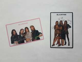 Blackpink Transparent Photocard