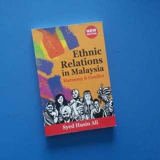 Ethnic Relations in Malaysia Book/Buku