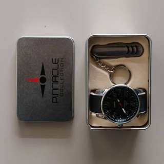 Tony and Ray men's watch with Swiss knife