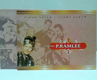 Collectibles buku setem p ramlee