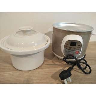 Electric Slow Cooker (Ceramic Inner Pot)