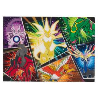 Pokemon Center Exclusive Ultra Nekurozuma Necrozma A4 Clearfile (Pre-Order)