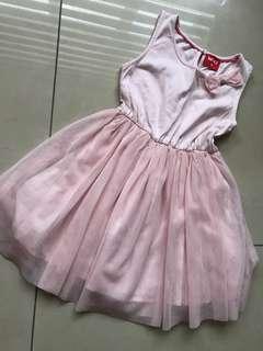 Miki 5yo pink dress