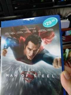 Blu ray, Man of Steel, brand new