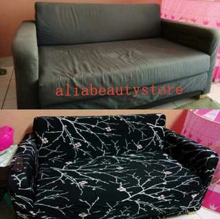 Ready stock NEW COVER SOFA 1,2,3@L seater